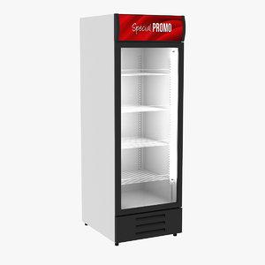 refrigerator display 3d model