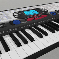keyboard synth synthesizer c4d