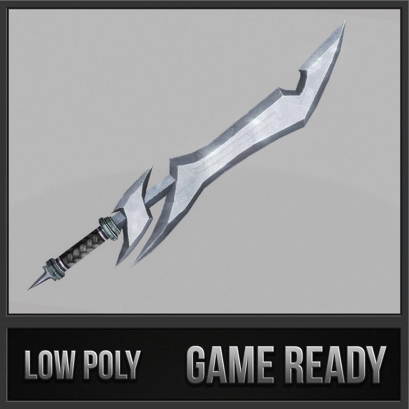 sword 06 3d max