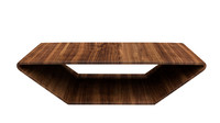 modern brasilia coffee table 3d model