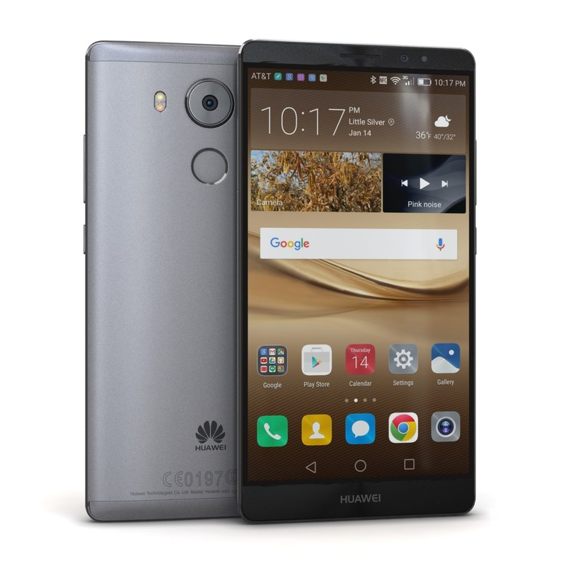 3ds huawei mate 8 space