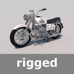 3d moto guzzi rig model