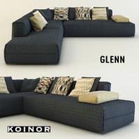 3d koinor glenn sofa