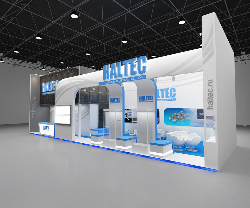 3d Exhibition Design : D exhibition booth stand