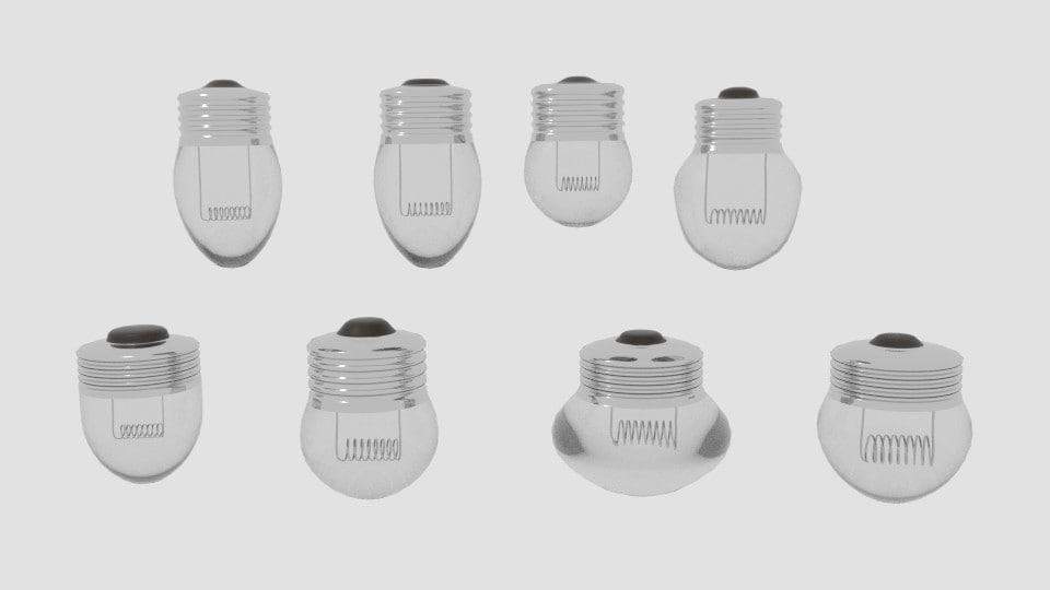 mini bulb pack 3d model