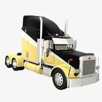 378 truck 3d lwo