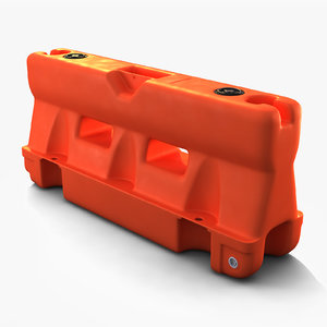 plastic barrier barricade max