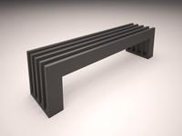 radiator bench 3ds