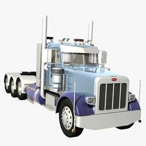 378 heavy haulage 3d model