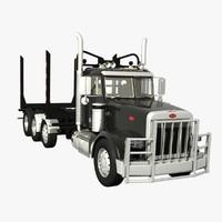 truck logger 3d model
