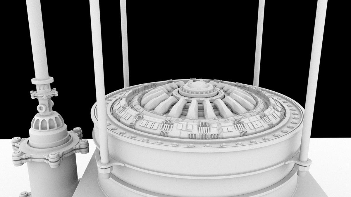 3d model capsule