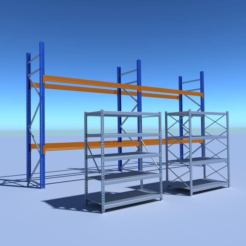 industrial rack pack x