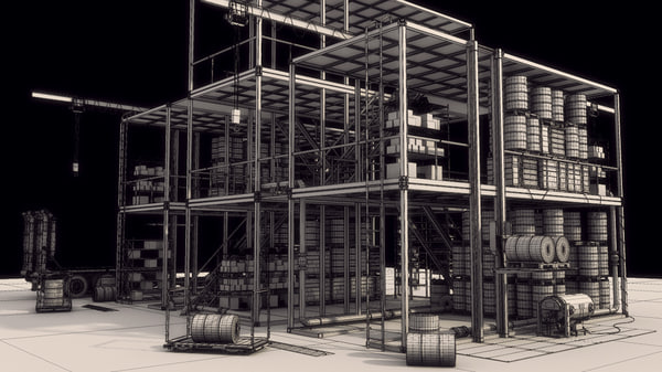 container 3d ma