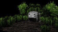 free goblins cave 3d model
