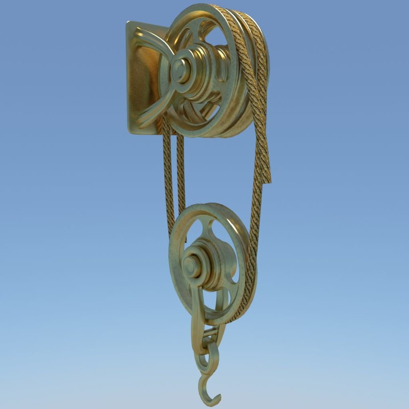 old pulley update 3d 3ds