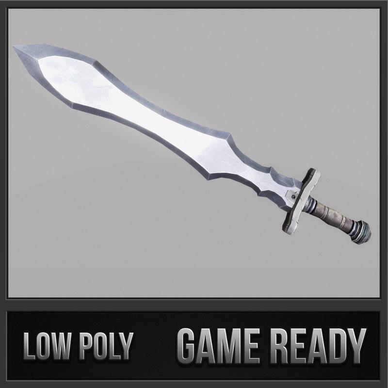 sword 11 3d model