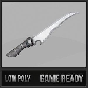 fantasy knife 01 3ds