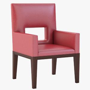 3d model arm chair choice