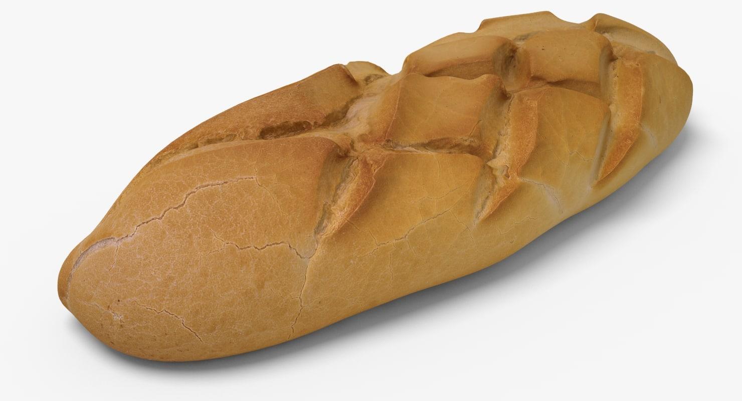 3d bread ready unreal