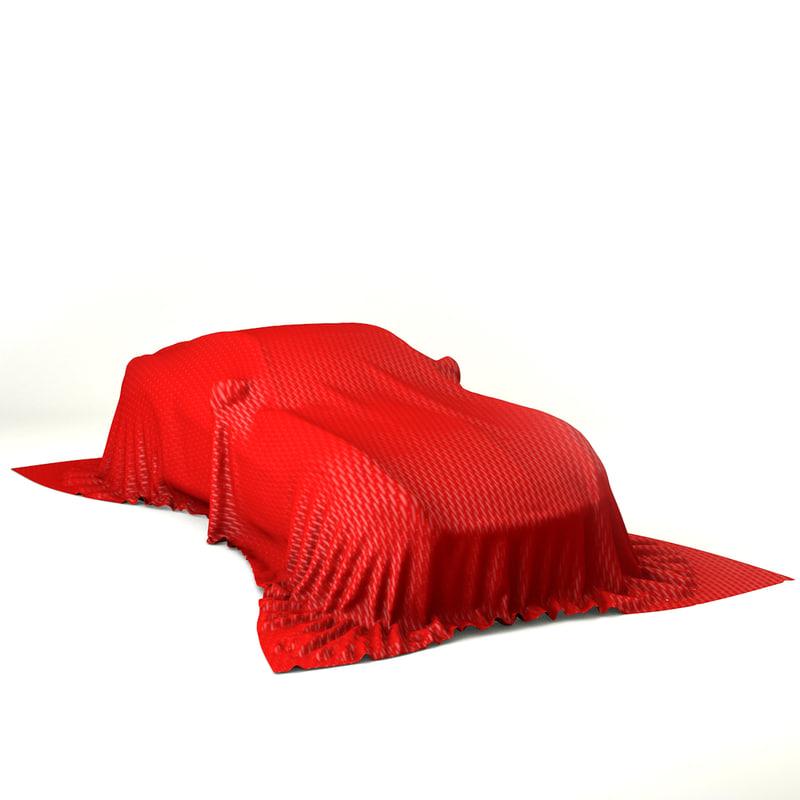 3d model car presentation - hi-poly