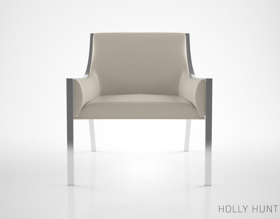 max holly hunt aileron lounge chair