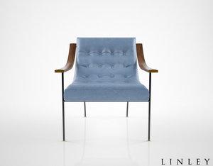 linley st moritz armchair 3d max
