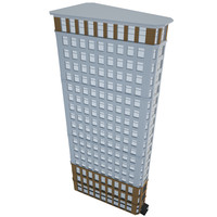 3d model commercial building