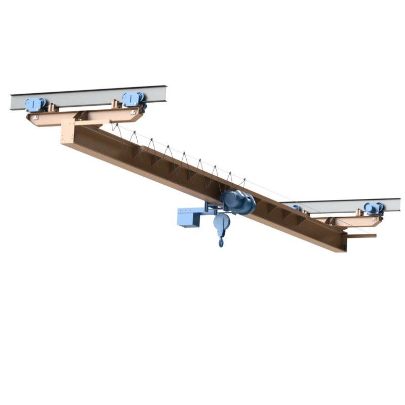 crane single-girder suspension 3d model