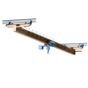 crane single-girder suspension 3d model