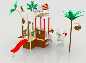 3d model water playground