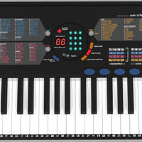 Synthesizer Keyboard: C4D Model