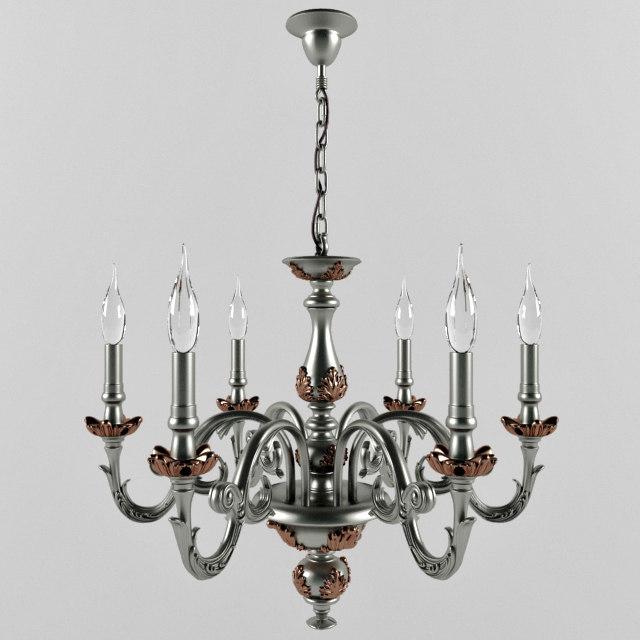 3d fine art chandelier model