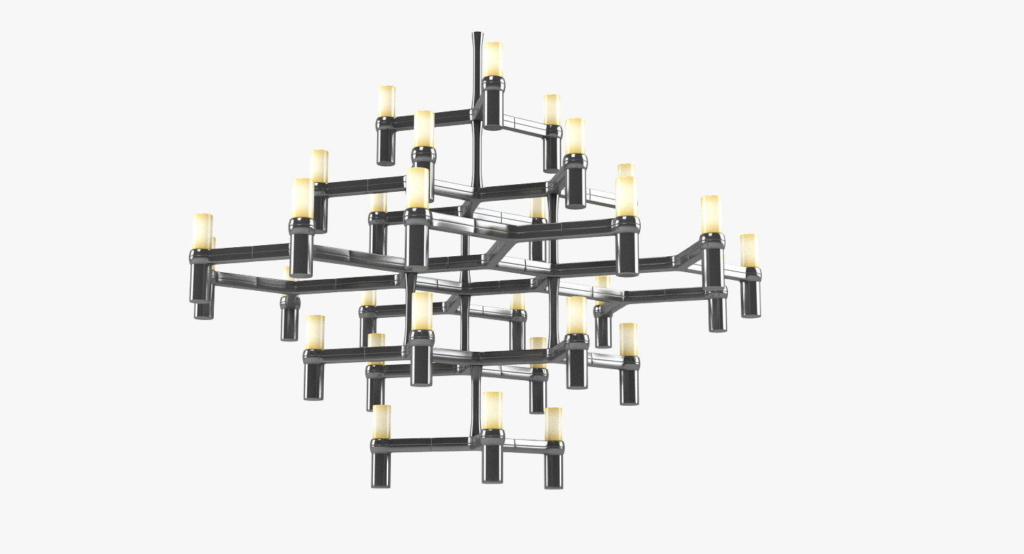 nemo crown major chandelier 3d max