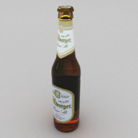 3d model beer bottle