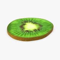 kiwi slice 3d model