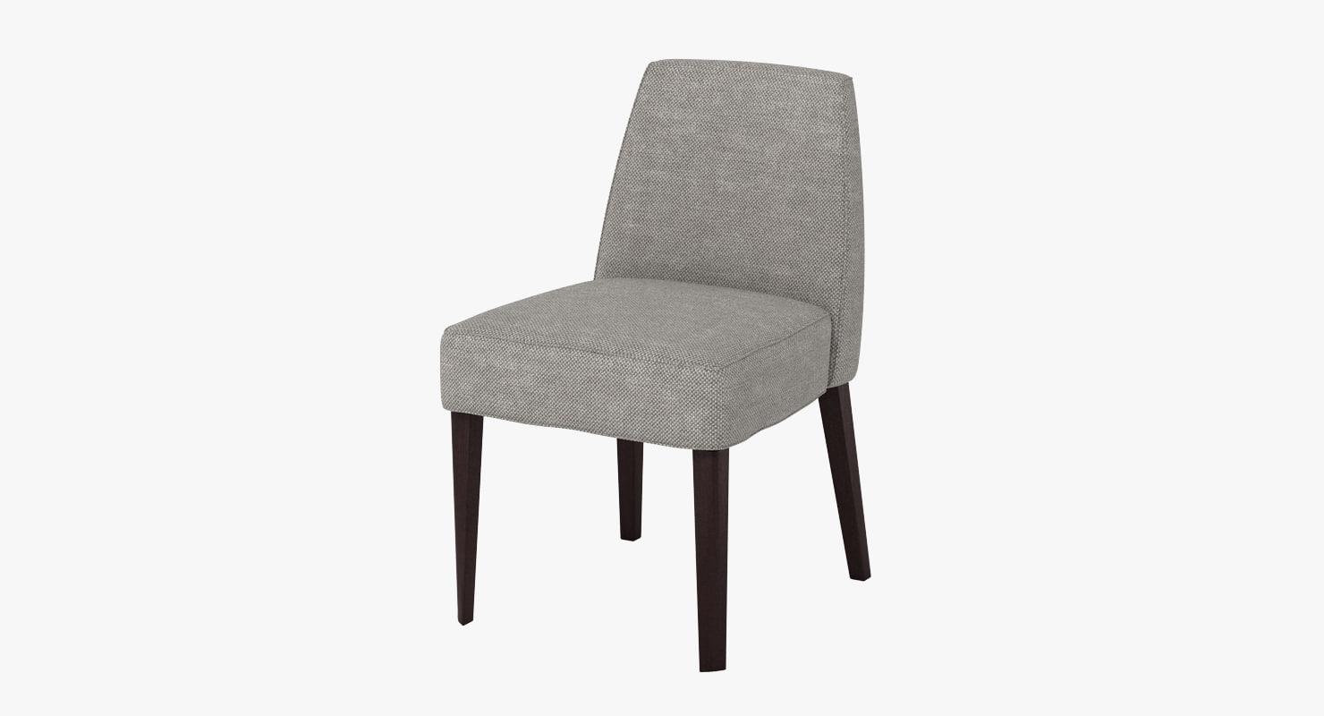 3d alto febo chair model
