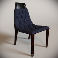 makassar dining chair 3d max