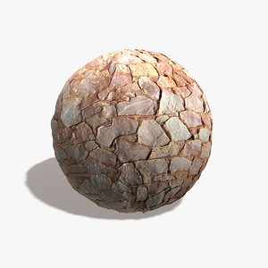 Pink Rock Wall Seamless Texture