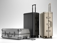 3d model rimowa topas trolley bag