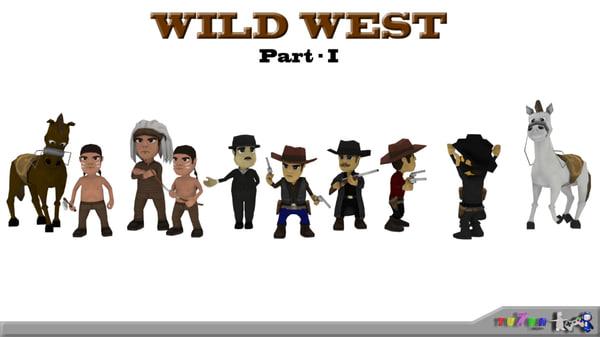 blend wild west pack -