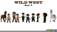 Wild West Character Pack Part - I