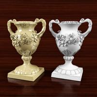 classic vase 3d 3ds