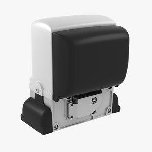 automatic gates drive 3d model