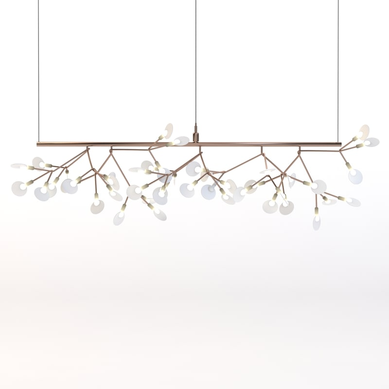 3d model heracleum endless suspension
