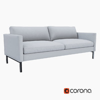 West Elm High Line Upholstered Sofa