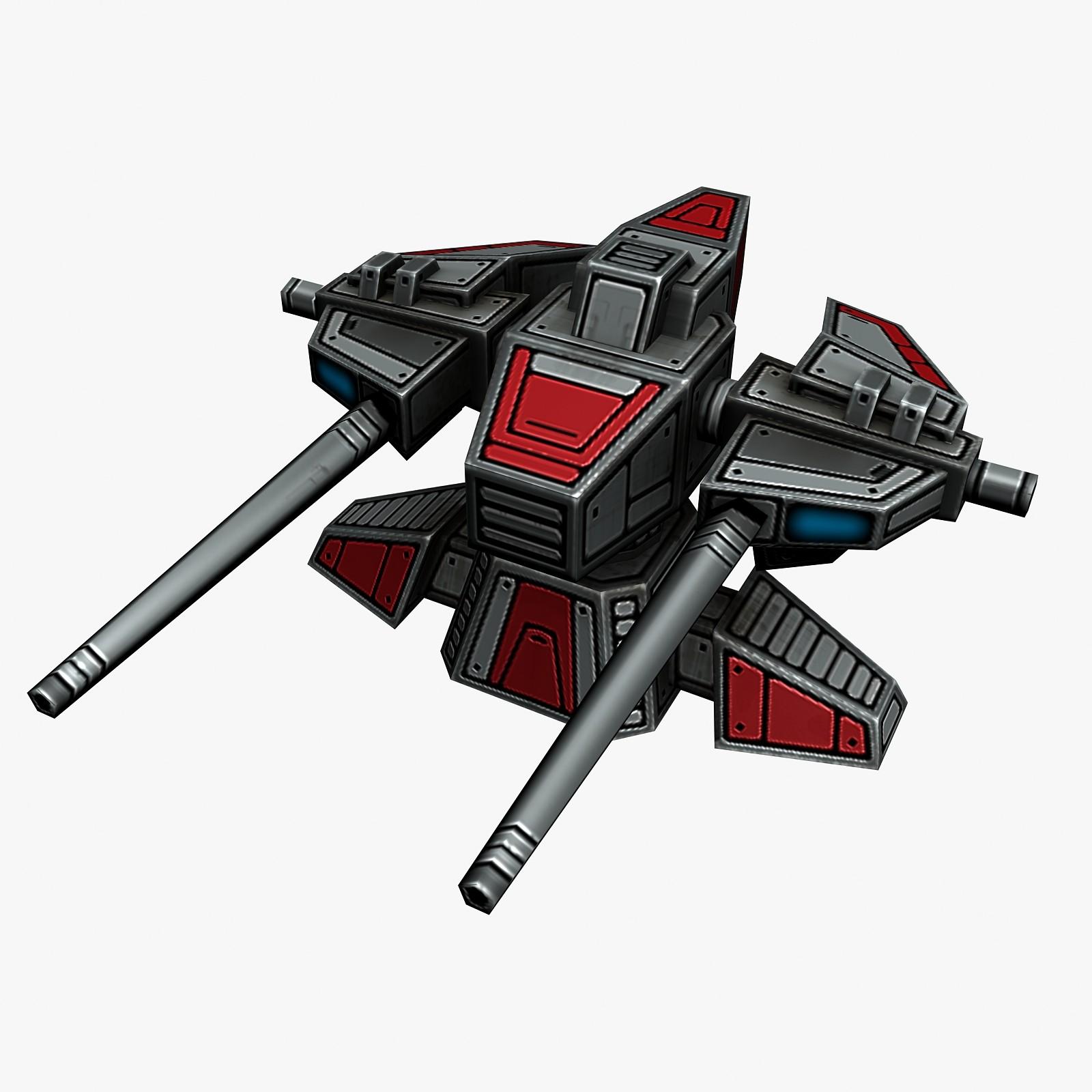 free max mode turret sci-fi
