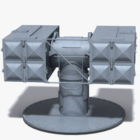 mk29 missile launcher 3d model