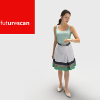 3d model people archviz