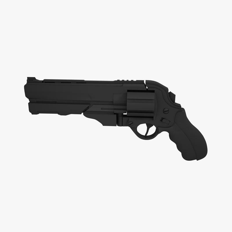 3d revolver 357 magnum