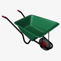 3d model wheelbarrow